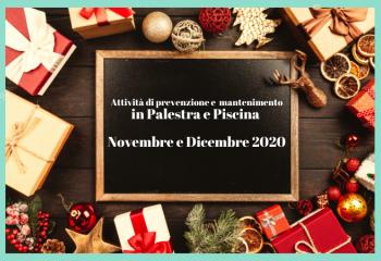 Programmazione Dicembre 2020