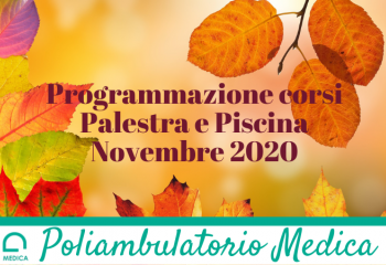 Programmazione corsi Novembre 2020