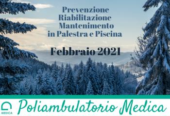 Programmazione Febbraio 2021