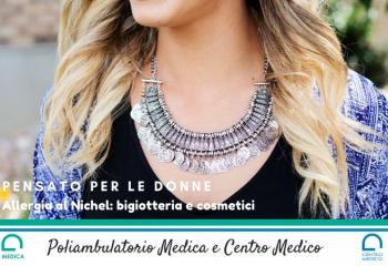 Allergia al Nichel: bigiotteria e cosmetici